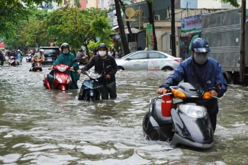 Nguyên nhân xe chết máy là do đi vào khu vực ngập nước