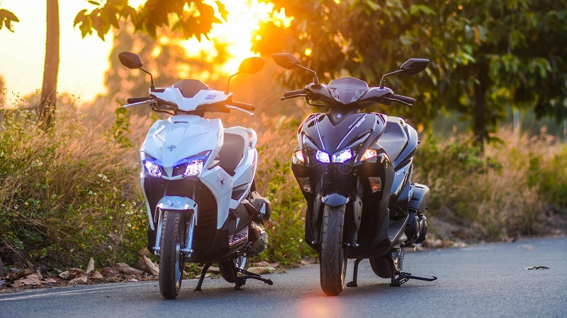 Xe Yamaha có lợi thế hơn về thiết kế