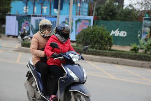 kinh nghiệm xử lý sự cố xe máy trong ngày lạnh giá
