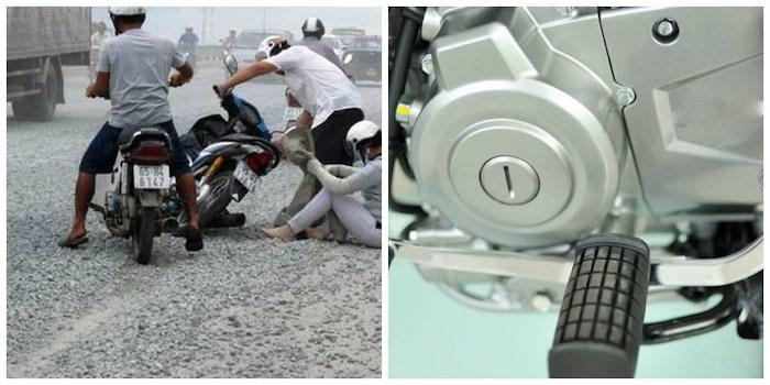 Kinh nghiệm xử lý tình trạng xe máy bị kẹt số